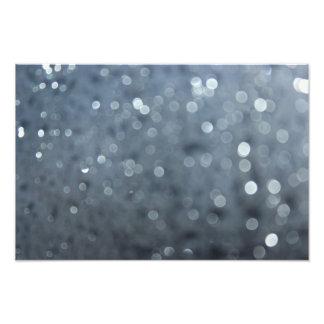 Gotas de lluvia borrosas fotografía