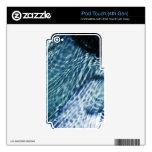 Gotas de lluvia en el agua calcomanías para iPod touch 4G