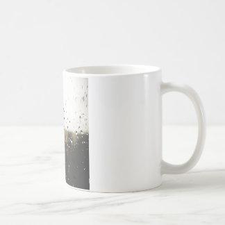 Gotas de lluvia taza