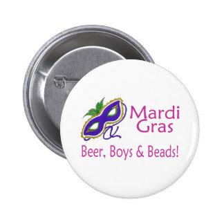 Gotas de los muchachos de la cerveza del carnaval pins