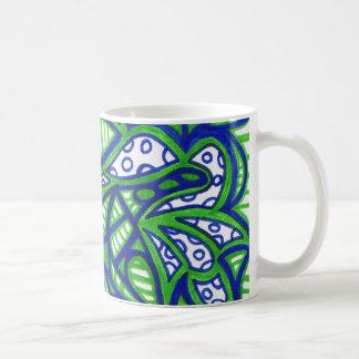 Gotas de rocío taza