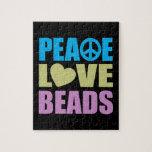 Gotas del amor de la paz rompecabeza