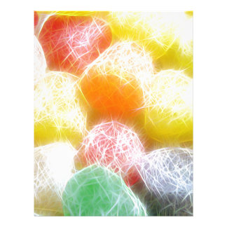 Gotas del azúcar membrete a diseño