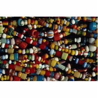 Gotas multicoloras hermosas en secuencias esculturas fotográficas