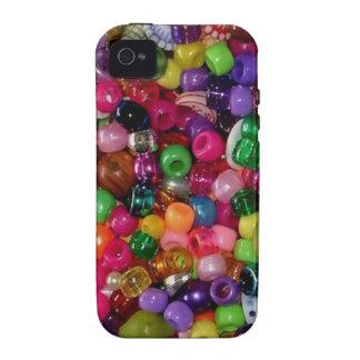 Gotas rosadas bonitas de la joyería iPhone 4/4S funda