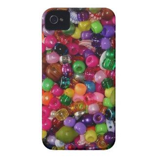 Gotas rosadas bonitas de la joyería iPhone 4 carcasa