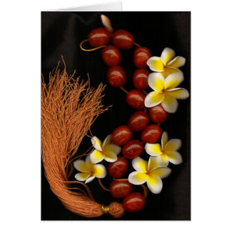 Gotas y flores felicitación