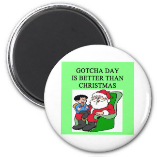 gotcha day adoption christmas idea magnet