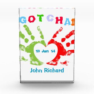 Gotcha Day! Acrylic Award