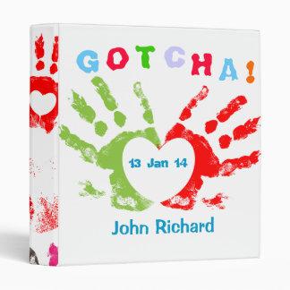 Gotcha Day! Vinyl Binder