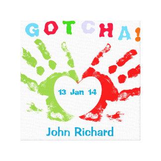 Gotcha Day! Stretched Canvas Prints