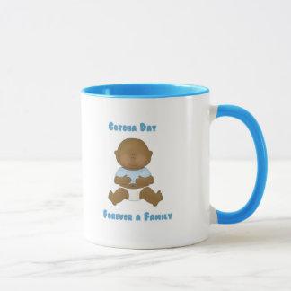 Gotcha Day Forever a Family boy Mug