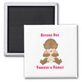Gotcha Day Forever a Family Magnets