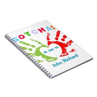 Gotcha Day! Note Book