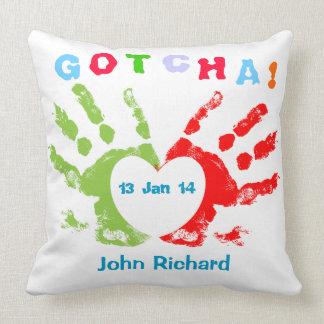 Gotcha Day! Pillow