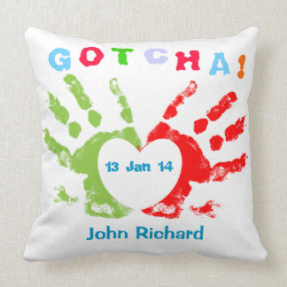 Gotcha Day! Pillows