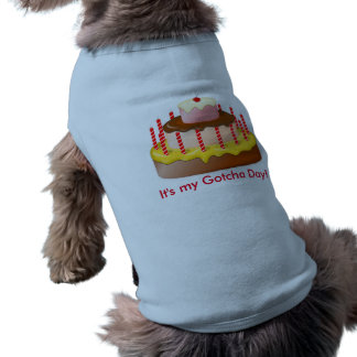 Gotcha Day Shirt For Dogs
