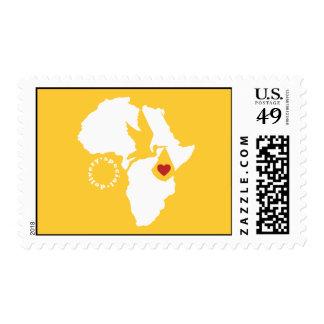 Gotcha día - franqueo timbre postal