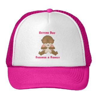 Gotcha día para siempre una familia gorras