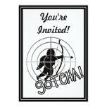 ¡Gotcha en vista! Invitaciones Personalizada