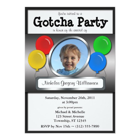Adoption Invitations Announcements – Adoption Party Invitations