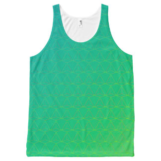 GOTCHA!  (Tank unissex) Green version All-Over-Print Tank Top