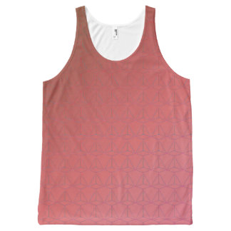 GOTCHA!  (Tank unissex) Red Unissex All-Over-Print Tank Top