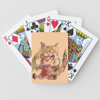 Gotcha Teddy Bicycle Playing Cards