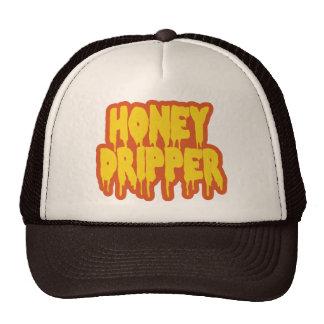 Goteador de la miel gorro de camionero