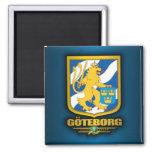 Goteborg 2 Inch Square Magnet