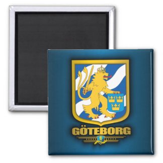 Goteborg Imán Cuadrado