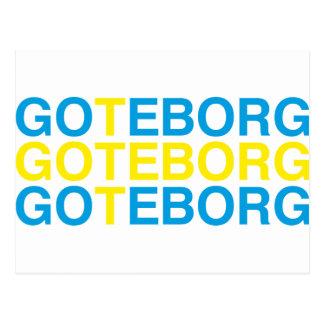 GOTEBORG POSTCARD