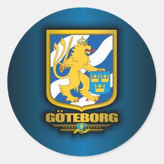 Goteborg Round Sticker