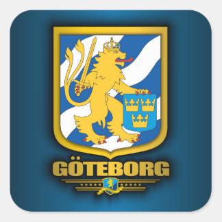 Goteborg Square Stickers