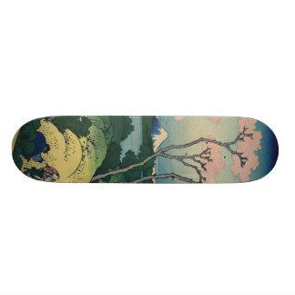Goten-yama Hill Hokusai Japanese Fine Art Skateboard Deck