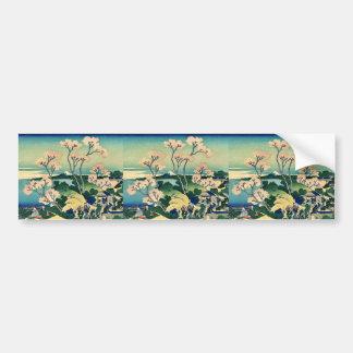 Goten yama hill, Shinagawa by Katsushika,Hokusai Bumper Stickers