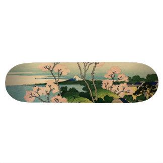 Goten-yama hill, Shinagawa on the Tōkaidō. Skateboard Deck