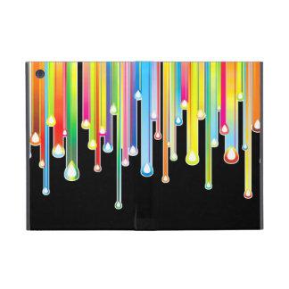 Goteo abstracto colorido de la formación de hielo  iPad mini protector