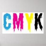 Goteo CMYK Posters