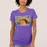 goteo de la plata del gorra de Van Gogh Camiseta