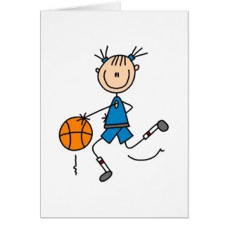 Goteo de la tarjeta del baloncesto