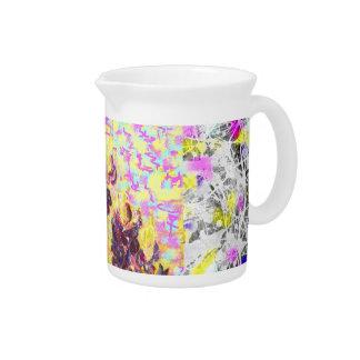 goteo de los wildflowers del bluebonnet jarras para bebida