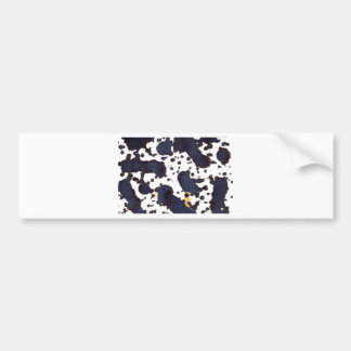 goteo de una altura etiqueta de parachoque
