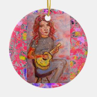 goteo del chica del ukulele ornatos