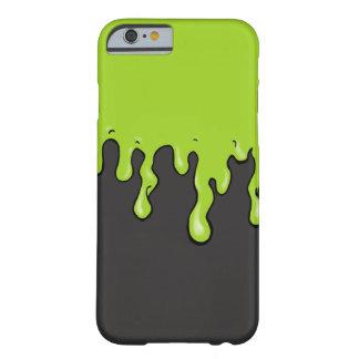 Goteo mega del limo (color adaptable del limo) funda de iPhone 6 barely there