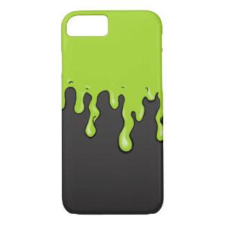 Goteo mega del limo (color adaptable del limo) funda iPhone 7