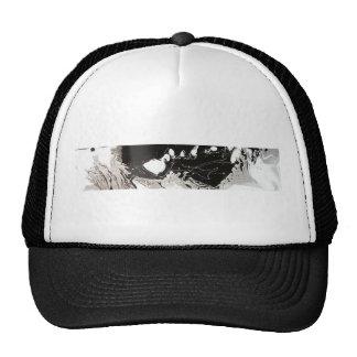 Goteo negro de plata gorra