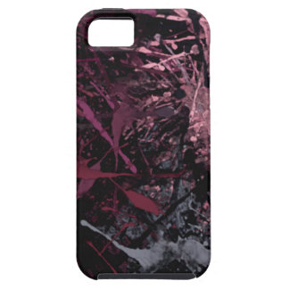 Goteos abstractos de la pintura iPhone 5 Case-Mate fundas