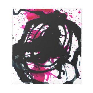 Goteos coloridos 11 de la pintura blocs de papel