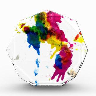 Goteos coloridos 2 de la pintura